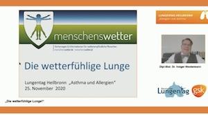 Titel Vortrag Lungentag